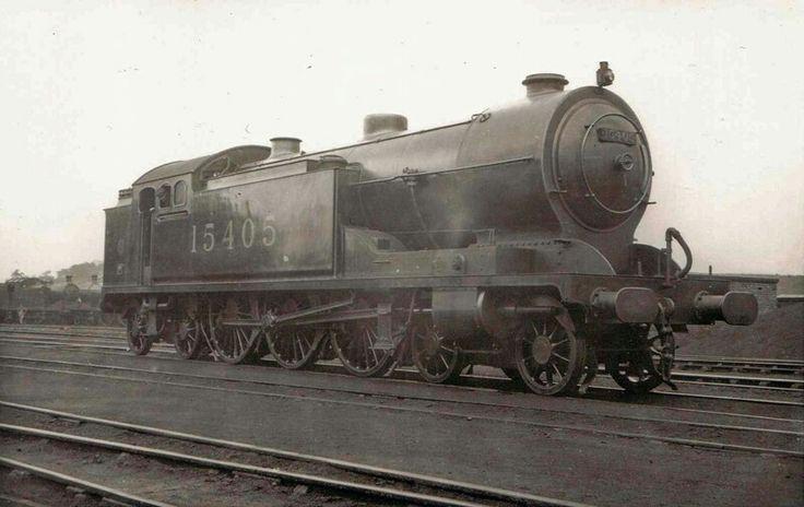 LMS (G&SWR)  Whitelegg 540 class  4-6-4T