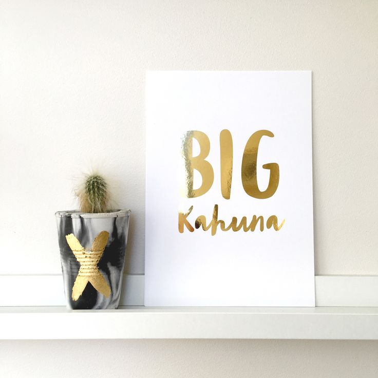 Big Kahuna paper cut artwork available in two colour and size options ready to frame.If our metallic options don't suit your needs feel free to contact us to discuss custom colour options.