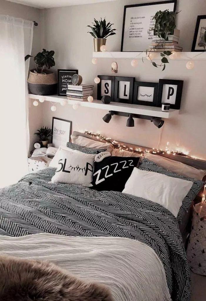 40+ Gorgeous Cozy Dorm Room Ideas You'll Want To Copy #dormroomideas #dormroomde…