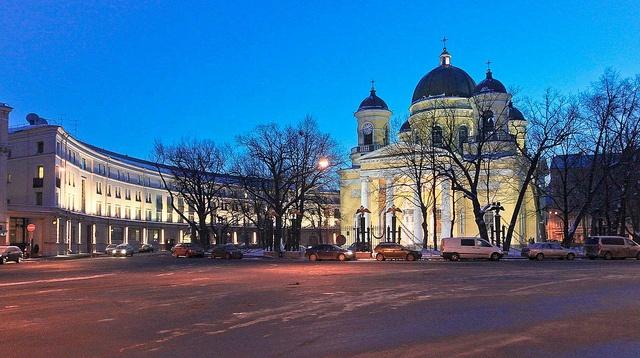 Transfiguration Cathedral, Saint Petersburg by Spectacolor Acoiris contra las nubes en Sain Petersburg #rusia #viajes #travels