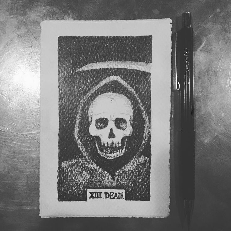 XIII. Death graphite in watercolor paper. The tarot is an interesting medium of divination- each card means something different to different folks. Here is my take on #13 #Death. This card represents change the end of the old and the beginning of new; closed doors potential unseen and paths unwalked. #tarot #cards #deathxiii #deathtarotcard #halloween #graphite #drawing #pencildrawing #artistsoninstagram #crossposted