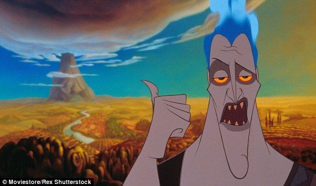 Firey: Hades is the Greek god of the Underworld and the main villain of the 1997 Disney animated feature film Hercules