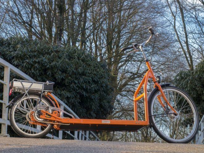 ウォーキングマシンで街を走ろう―トレッドミル付きの電動バイク「Electric Walking Bike」 - えん乗り