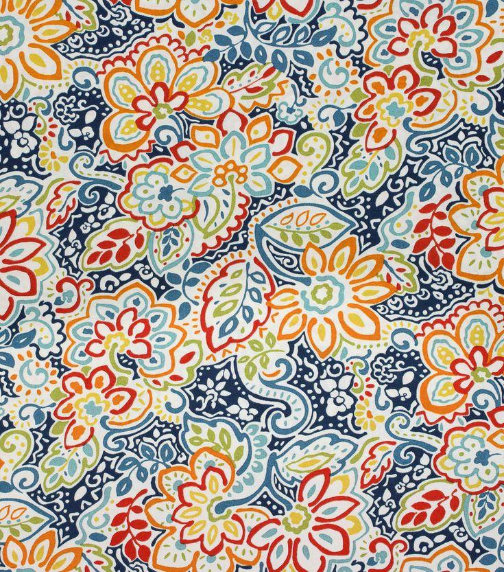 Solarium Outdoor Fabric-Dakota Indigo