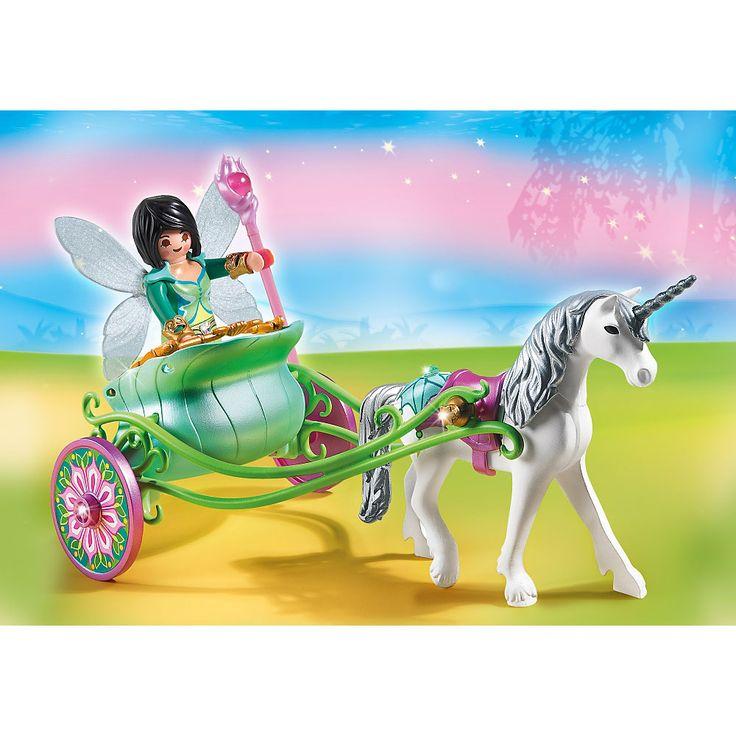 Playmobil Wróżki Powóz jednorożca z wróżką, 5446, klocki