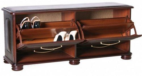 Банкетка с ящиком для обуви