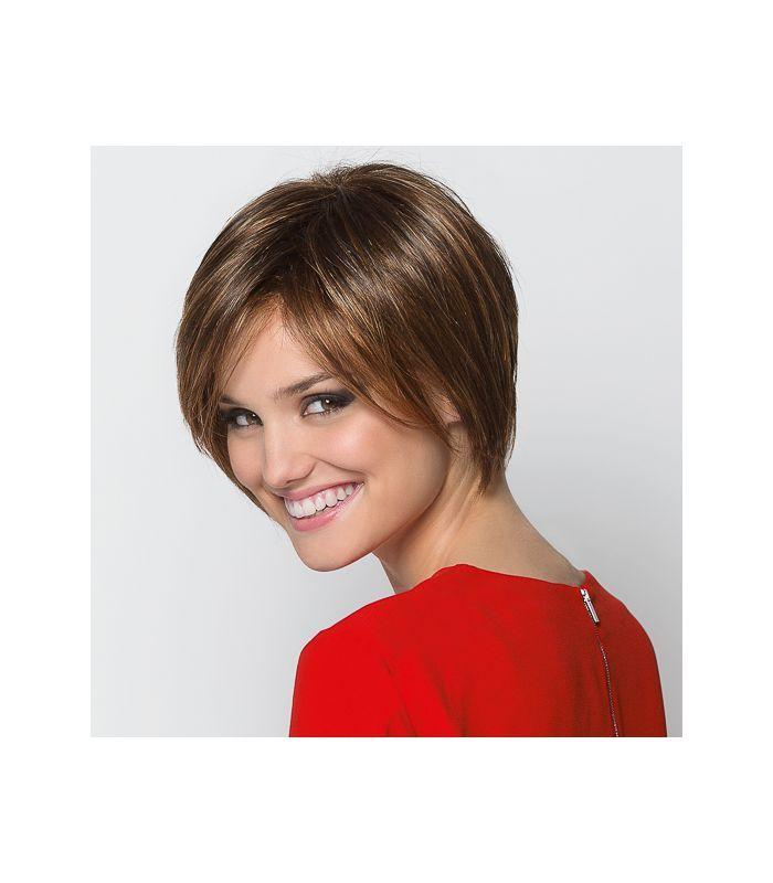 169 € - Perruque cancer Perucci JAVA - carré plongeant - indispensable pour couvrir une chute de cheveux. Prothèse capillaire indétectable (lace Wig)