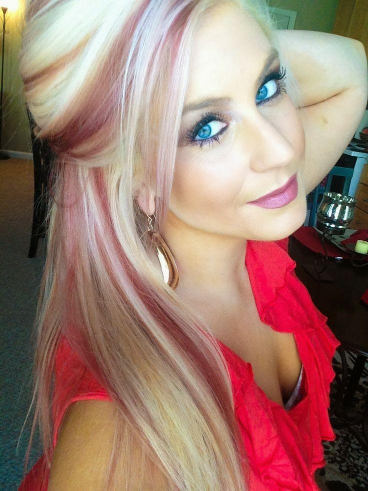 The 25 Best Red Streaks Ideas On Pinterest Brown Hair