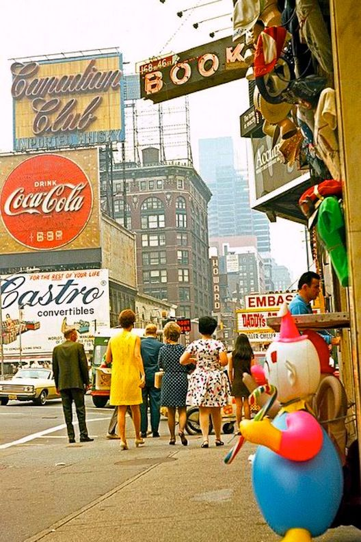 Times Square, New York City, 1960s