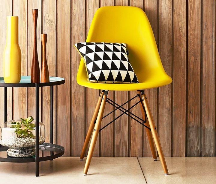 Cadeira Eames Wood :) #varanda #jardim #eames