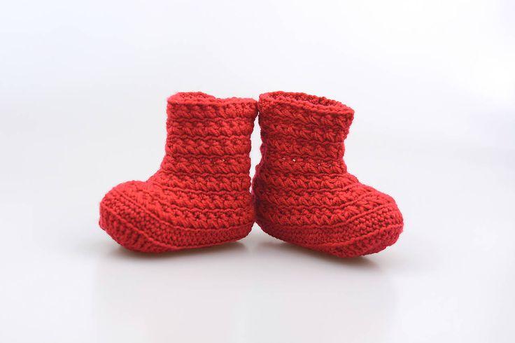Červené čižmy EXTRA FINE