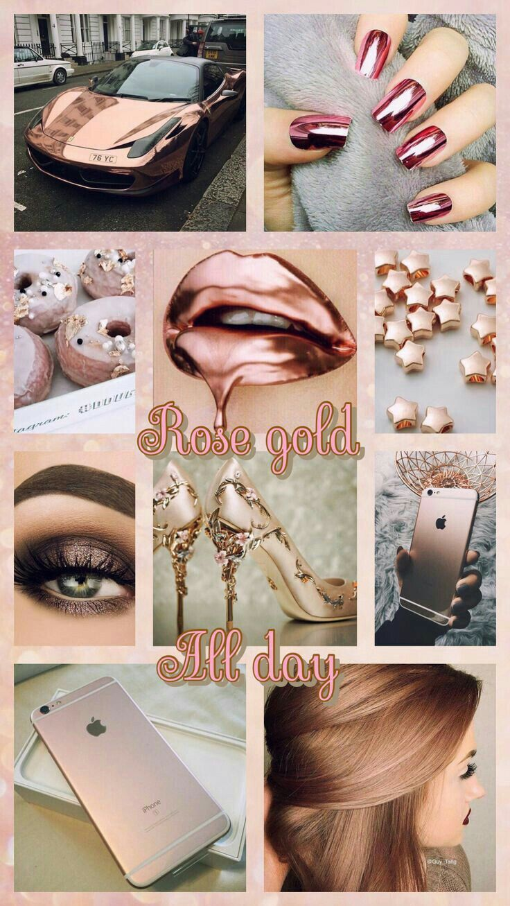 Pin By Sierra On Aesthetic In 2019 Rose Gold Wallpaper