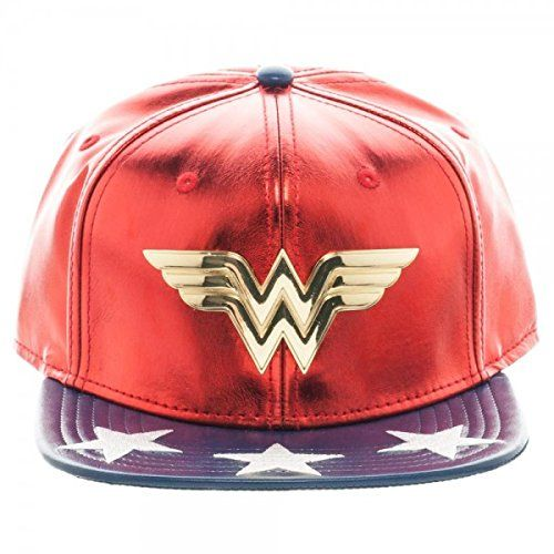 DC Comics Wonder Woman Piel Sintética Gorra