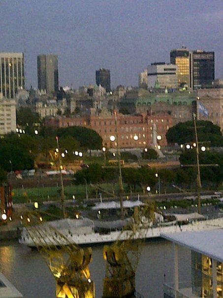 La Rosada (govt house) Buenos Aires, Argentina