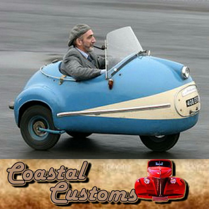 What will you do when you see someone ride a car like this? #Funny #Cars