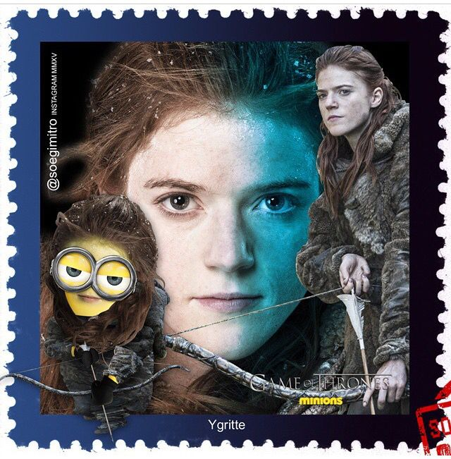 Game Of Thrones Minions ~ Ygritte