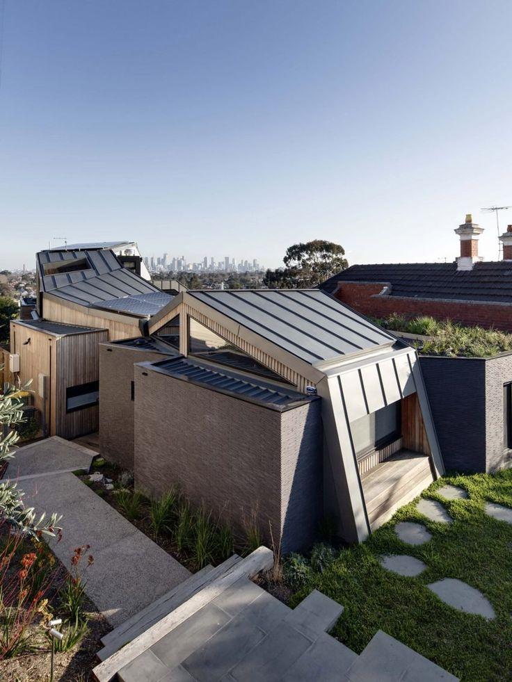 Best 25 zinc roof ideas on pinterest modern barn for Architecture zinc