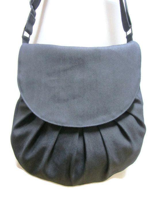 Denim Handbag By Loli Crossbody Purse With Adjule Strap Best Travel Bag Perfect