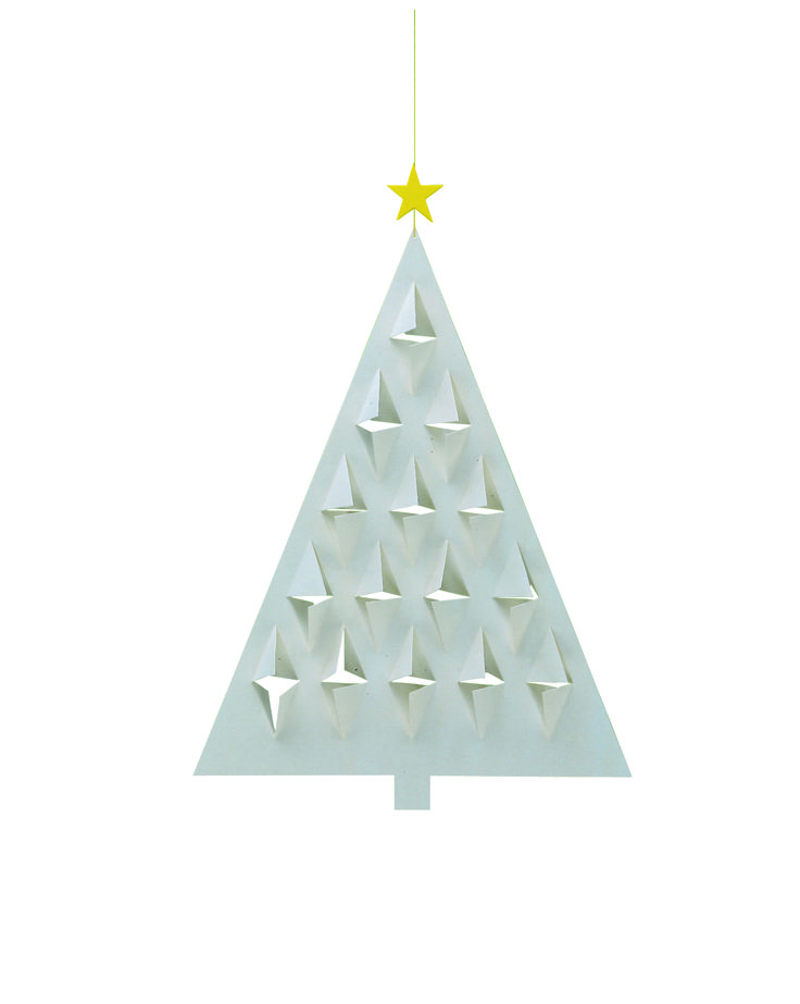 Prism Tree (white/white) by Flensted Mobiles