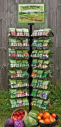 High Meadow Organic Seed Rack Program