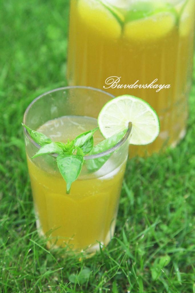 Базиликовый лимонад сжатие