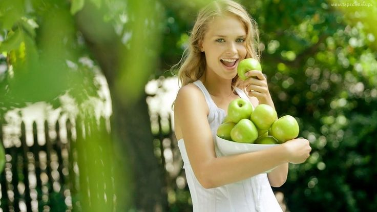 #naturalne #zdrowie #jabłko #natura