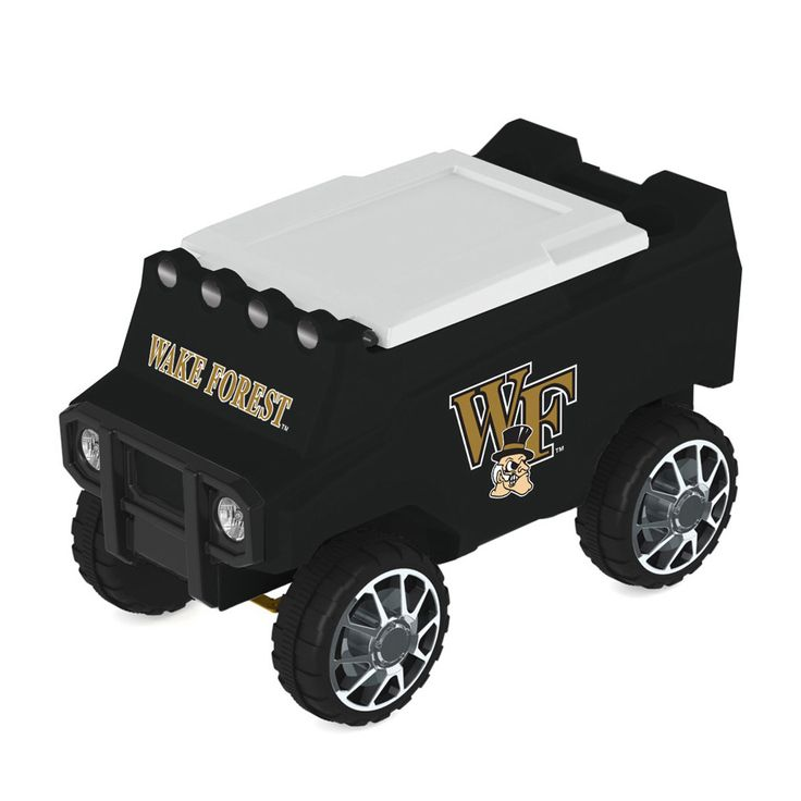Wake Forest Demon Deacons Remote Control Cooler w/ MP3 Player