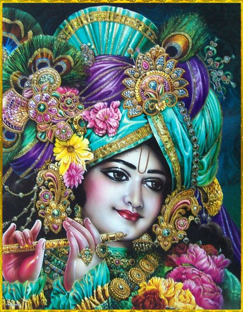 "☀ Krishna mata Krishna pita Krishna dhana prana ☀""Accept Krishna as your mother. Accept Krishna as your father. Accept Krishna as your wealth and your life.""~Sri Nagara-kirtana, Bhaktivinode Thakur"
