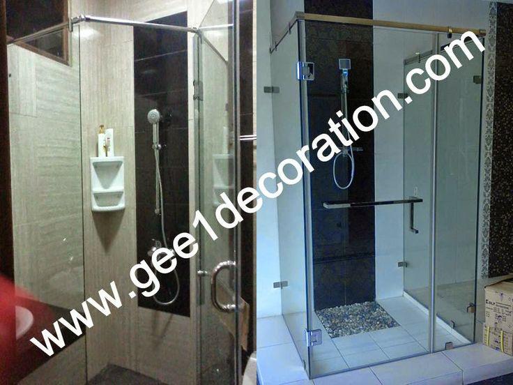 partisi,sekat,aluminium,kaca,frameless,fitting,tempered,pintu kamar mandi,lipat,jendela,sliding,: shower screen, partisi, sekat, kamar mandi, toilet...
