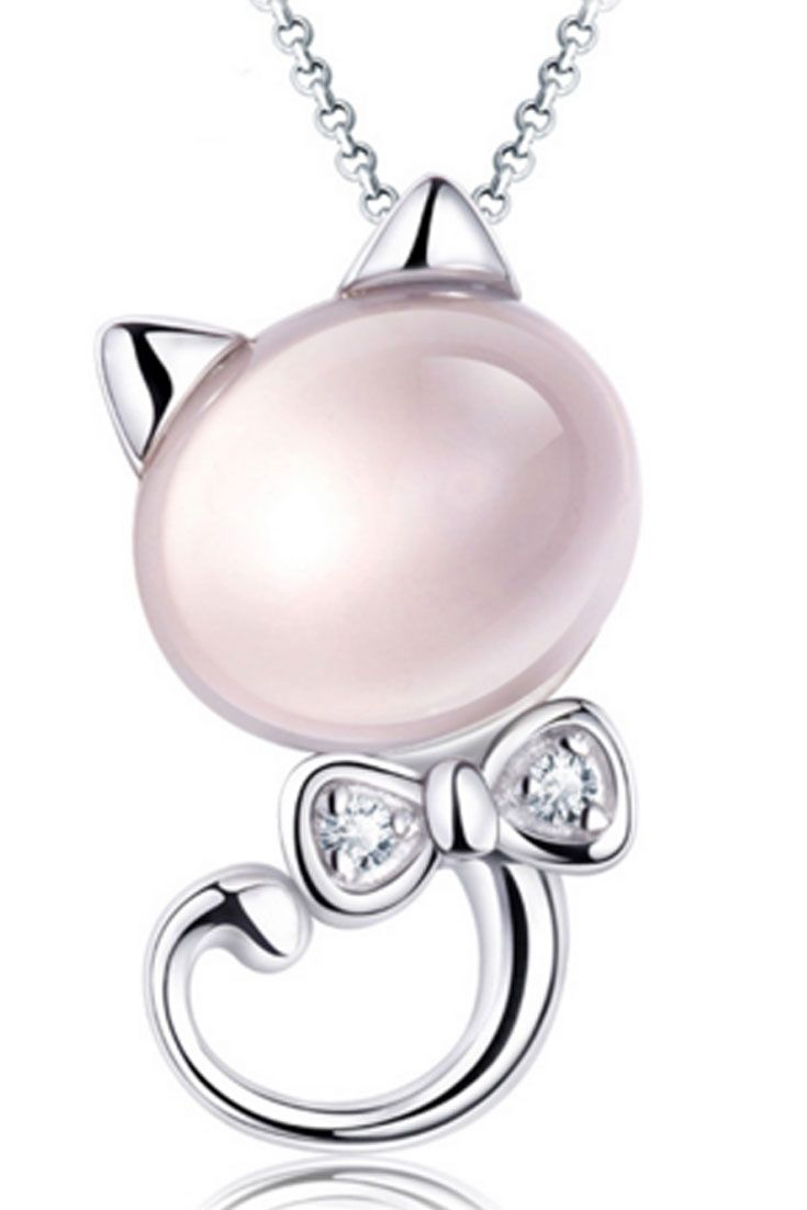 Love Cats? Then this cat opal eye pendant necklace is for you. Grab this at 50% off today.