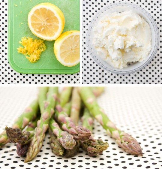SHAVED ASPARAGUS + LEMON RICOTTA PIZZA | food | Pinterest | Ricotta ...