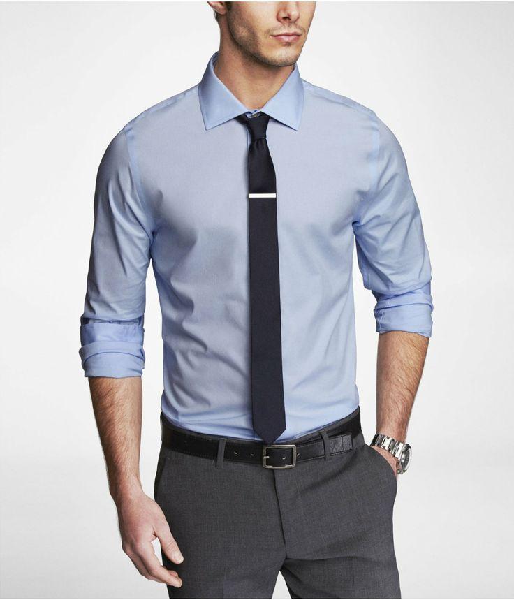Extra slim 1mx spread collar shirt express clothes for Extra slim dress shirt