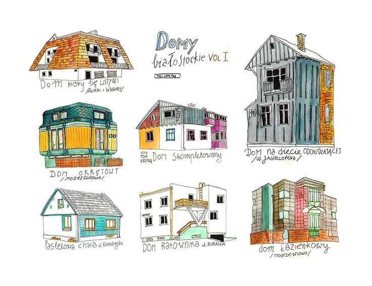untypical houses