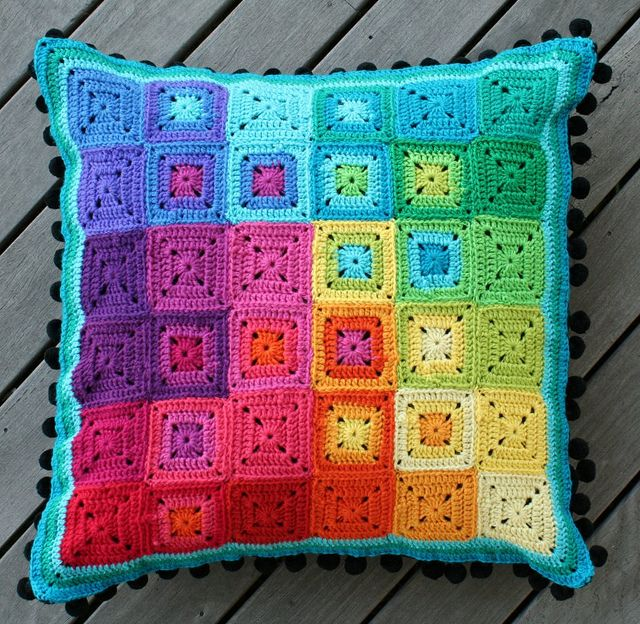 CMYK cushion by rettgrayson, via Flickr