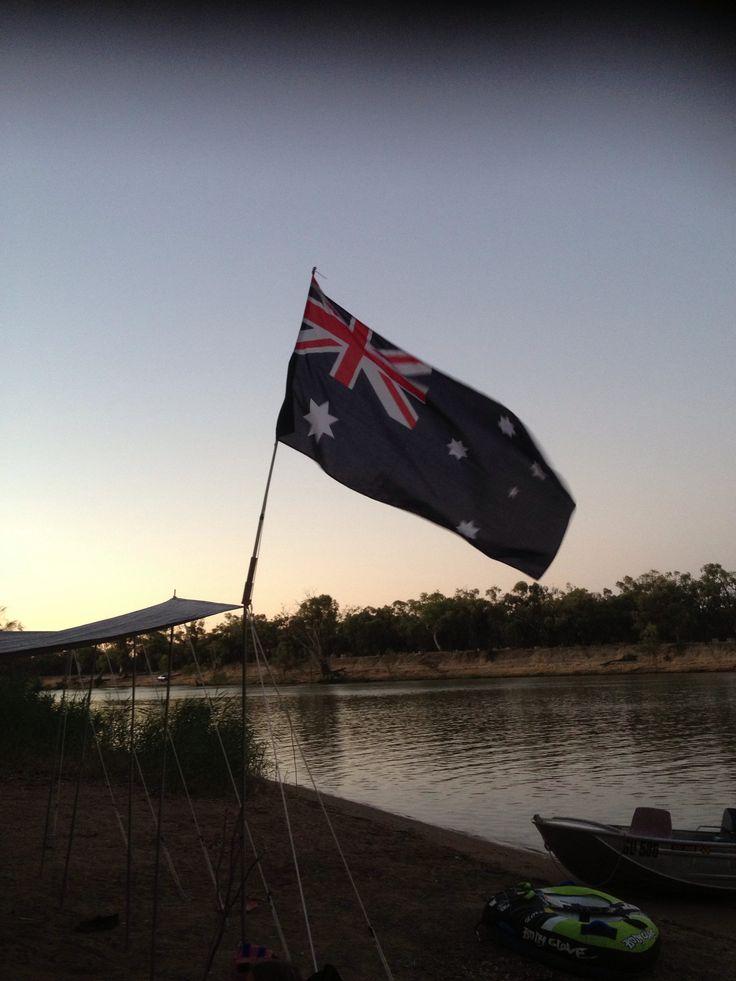 Camping Australia Day 2013. #AustraliaDayOnboard