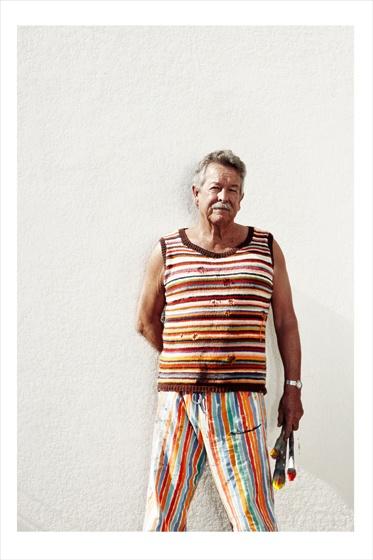 Colourful Ken Done | Portrait by Damian Bennett