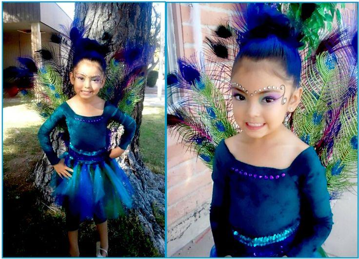 Kids peacock costume DIY