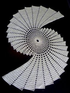August 2012 Ravelry: Fractal pattern by Essi Varis