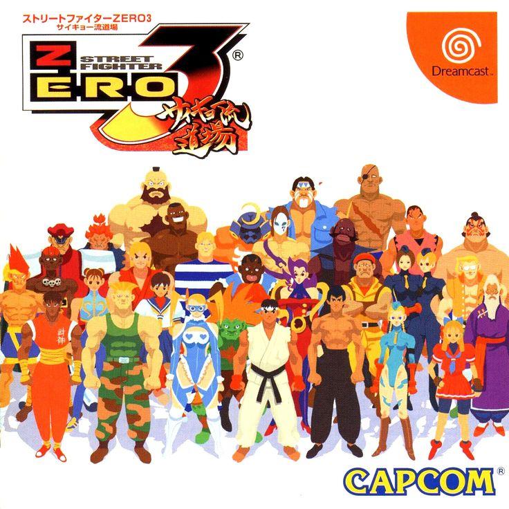 Street Fighter Alpha 3 - Dreamcast - NTSC-J