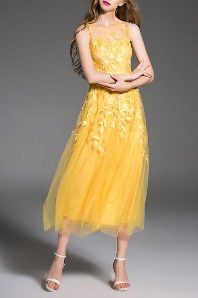 Yellow card uk formal dresses