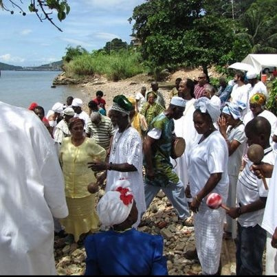 The Orisha Olokun Festival will b held @ the mouth of the Marianne River in Blanchisseuse @ 10.30am Sat 27th October. This is the Orisha Ocean Festival in which man's indispensable link to the force of the Ocean is celebrated. Oct 14 2012