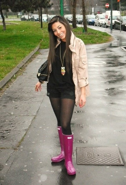 388 best images about Hunter Boots/Rain Outfits on Pinterest ...