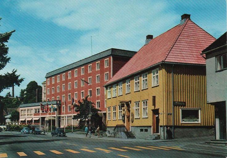 Vestfold fylke Larvik Gyldenløve Hotell og kro 1960-tallet