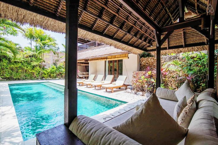 One of our favorite spot at Villa Kubu is the Pool Bale - serves as contemplative and relaxing outdoor spaces.  www.villakubu.com #villakubu #poolbale #wanderlust #sanctuary #seminyak #bali #paradise #travel #holiday #vacation