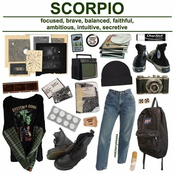 Not a scorpio but I'd rock this