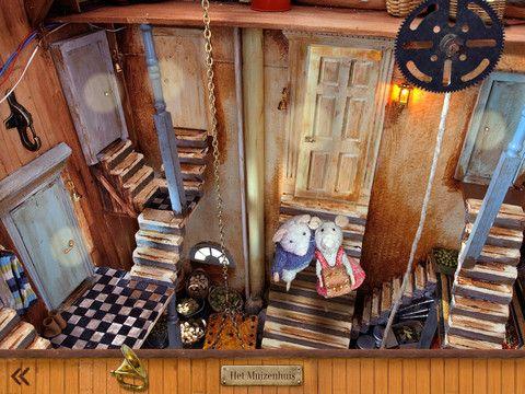HET MUIZENHUIS: deze app is gebaseerd op de populaire boeken van Karina Schaapman. Net als in de boeken spelen Julia en Sam de hoofdrol.