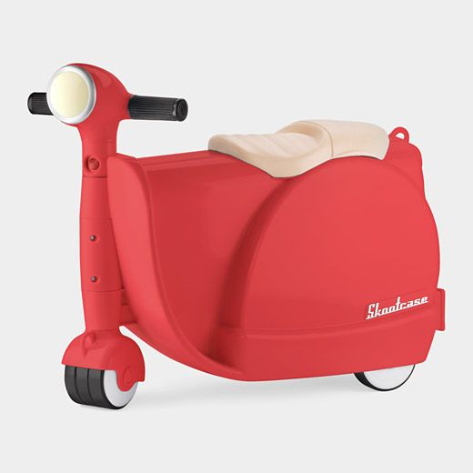 Perfect For traveling with the Kids | Skootcase - suitcase that's also a scooter... Genius!
