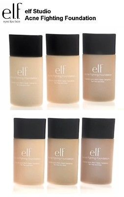 E-L-F-Cosmetics-1-x-Acne-Fighting-Foundation-Makeup-Trucco-Viso-Fondotinta-elf