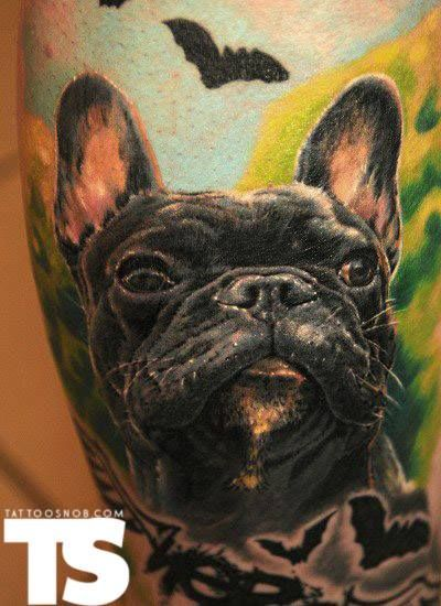 french bulldog tattoo z tattoos with dogs pinterest french bulldog tattoo bulldog tattoo. Black Bedroom Furniture Sets. Home Design Ideas