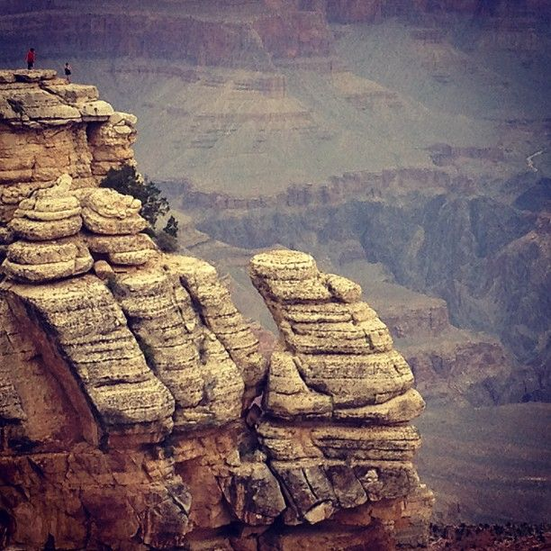 Mather Point in Grand Canyon, AZ